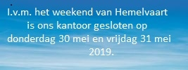 Hemelvaart 2019